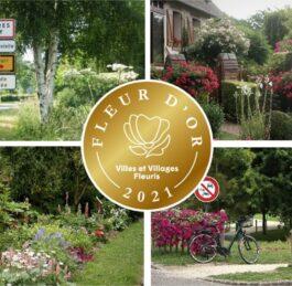 Mesnières en Bray vient d'obtenir la « Fleur d'or » du label Villes et villages fleuris